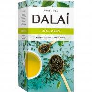 Чай зеленый «Dalai» купаж зеленого чая и улуна, 25х1.8 г.