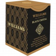 Чай черный «Williams» Black Crystal, листовой, 100 г.