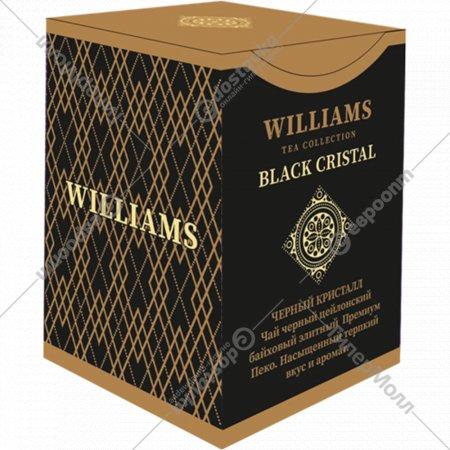 Чай черный «Williams» Black Crystal, листовой, 100 г.