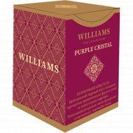 Чай черный листовой «Williams» Purple Crystal личи, 100 г.