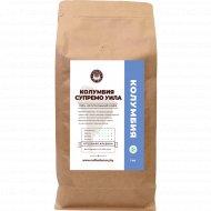 Кофе зерно натуральный жареный «Coffee Factory» Супремо Уила, 1 кг.