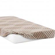 Простыня на резинке «Samsara» Капучино, 200x180, Сат180Пр