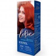 Крем-краска для волос «Estel love» тон 8/54, красная медь