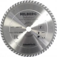 Диск пильный «Hilberg» Industrial, HW352