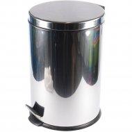 Ведро для мусора металлическое с педалью 20 л.
