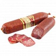 Колбаса сырокопченая «Гродненский мясокомбинат» Мясной дуэт, 1 кг, фасовка 0.65-0.75 кг