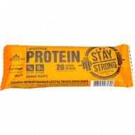 Батончик неглазированный «Lifestyle» protein, банан/манго, 60 г.