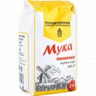 Мука пшеничная «МукаМол» М36-27, первый сорт, 2 кг