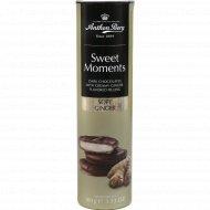 Конфеты «Sweet Moments» темный шоколад с имбирной начинкой, 100 г.