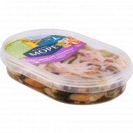 Коктейль из морепродуктов «Вкусное море» в масле, 200 г