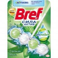 Туалетный блок «Bref» ProNature, свежая мята, 50 г