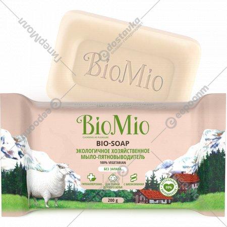 Экологичное хозяйственное мыло «BioMio» без запаха, 200 г
