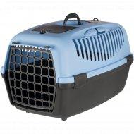 Переноска для животных «Trixie» Traveller Capri III, серый/синий.