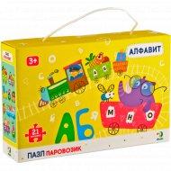 Пазл-паравозик «Алфавит» 21 элемент.