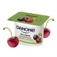 Йогурт с вишней и черешней «Данон» 2.9%, 110 г.