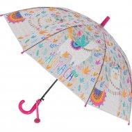 Зонт-трость «Михи-Михи» Альпака с 3D эффектом, розовый