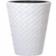 Горшок «Prosperplast» пластиковый Flower pot Matuba 300, белый