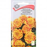 Семена бархатцев отклонённых «Двухцветный гигант» 0.4 г.