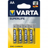 Элемент питания «Varta» Superlife R6, 4 шт.