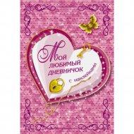 Книга «Мой любимый дневничок с наклейками».