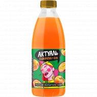 Напиток сывороточный «Актуаль» с соками персика и маракуйи, 930 г.