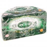 Сыр мягкий «Рокфор Сосьете» из овечьего молока, 52%, 1 кг, фасовка 0.1-0.2 кг