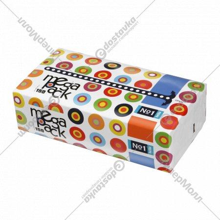 Платочки бумажные «Bella №1» MegaPack, универсальные, 150 платочков.