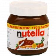 Паста ореховая «Nutella» с добавлением какао, 385 г.