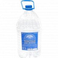 Вода питьевая «Чистая» негазированная, 5 л.