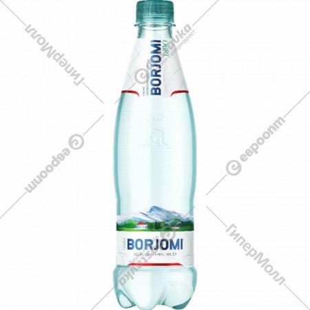 Вода минеральная «Borjomi» газированная, 0.5 л.