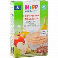 Гречневая каша «Hipp organiс» с фруктами, 200 г.