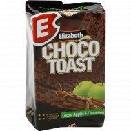Вафли сдобные «Choco toast» с какао, яблоком и корицей, 85 г