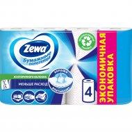 Полотенца бумажные «Zewa» 4 рулона.