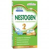 Смесь сухая молочная «Nestogen 2» пребиотики и лактобактерии, 350 г.
