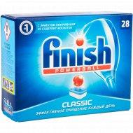 Таблетки для посудомоечных машин «Finish» Classic, 28 шт
