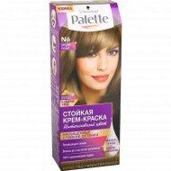 Краска для волос «Palette» средне-русые N6.