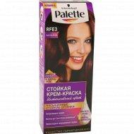 Краска для волос «Palette» баклажан RFE3.