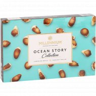 Конфеты шоколадные «Истории океана» с ореховым пралине, 170 г.