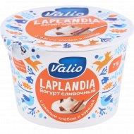 Йогурт сливочный «Valio» с ржаным хлебом и корицей, 7%, 180 г