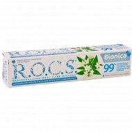 Зубная паста «R.O.C.S.» бионика отбеливающая 74 г.