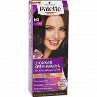 Краска для волос «Palette» каштановый N3.