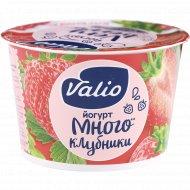 Йогурт «Valio» с клубникой, 2.6%, 180 г