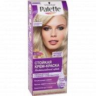 Крем-краска «Palette» серебристый блондин, С10.