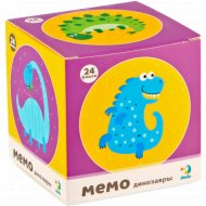 Мемо-игра «Динозаврики» мини, 24 элемента.