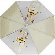 Зонт-трость «Михи-Михи» Мишка Rock N Roll, желтый, 80 см