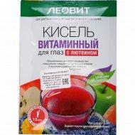 Кисель «Леовит» витаминный для глаз с лютеином 18 г.