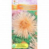 Семена цветов «Астра» брюнхильда, 0.3 г.