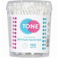 Ватные палочки «Tone» 100 шт.