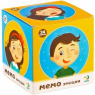 Мемо-игра «Эмоции» мини, 24 элемента.