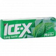 Жевательная резинка «Ice-X» мята, 14 г.